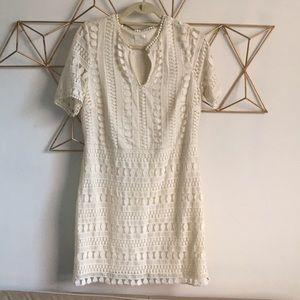 H&M crochet lace dress